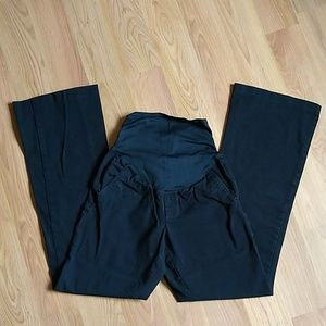 Old Navy Maternity Pants Black